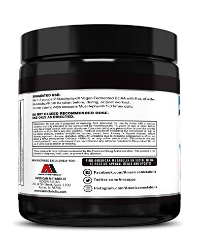 upc 030915180498 product image for American Metabolix Musclephyx BCAA Pro Series Supplement, Watermelon, 12.27 Ounce