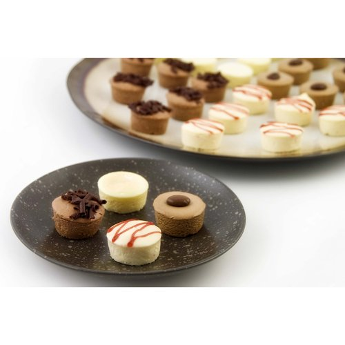 Mini Cheesecake Assortment, Frozen, 4 Flavors - 1.5 Inch (144 Count) ()