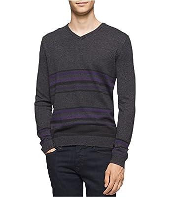 Calvin Klein Men's Merino Sweater V-Neck,