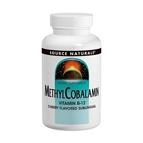 Source Naturals, MethylCobalamin, Cherry Flavored, 5 mg, 60 Tablets - 3PC by Source Naturals