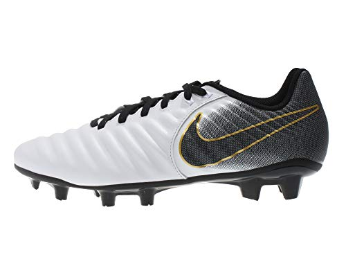 e022a90421f Nike Tiempo Legend 7 Academy FG Soccer Cleat (White Black) (Men s 6.5  Women s 8)