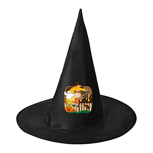 Cute Halloween Outfits Homemade (SeSHU Cute Warlock Black Magic Hat Witch Cap in Halloween Fancy Ball)
