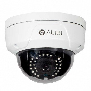 Alibi 3.0 Megapixel 65' IR Vandalproof IP Outdoor Dome Security Camera ()