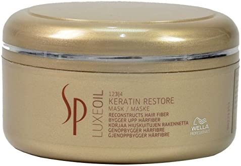 Wella SP Luxe Oil Keratin Restore Mask for Unisex, 150 Millilitre