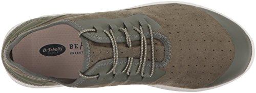 Dr. Scholls Dames Flyer Sneaker Wilgen Groen Microfiber