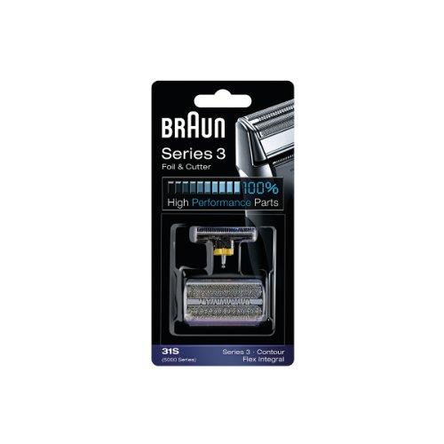 Braun Replacement Cutter Cassette Silver