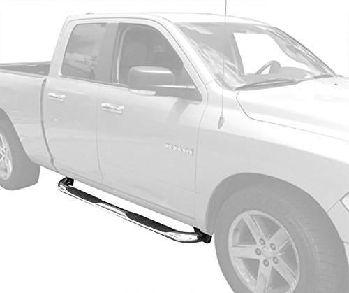 MaxMate Custom Fit 2009-2018 Dodge Ram 1500 Quad Cab Stainless Steel 3
