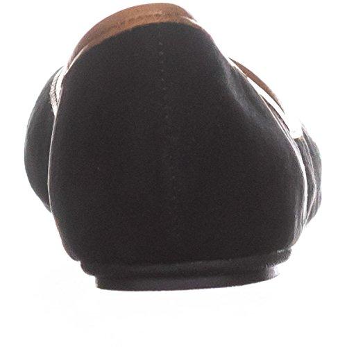 Rag Cellia American AR35 Flats Ballet Cognac Black 78TgqwR