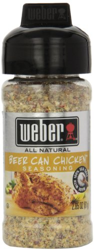 (Weber Grill Beer Can Chicken Seasoning, 2.85-Ounce (Pack of 6))