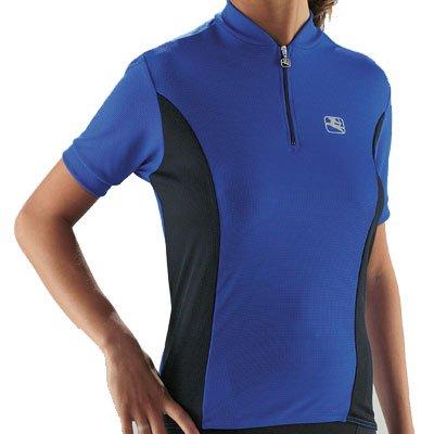 Apex Short Jersey Sleeve - Giordana Women's Apex Short Sleeve Cycling Jersey - Blue - GI-WSSJ-APEX-BLUE (S)