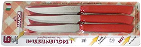 Marietti Coutellerie mri091/couteaux /à steak multicolore