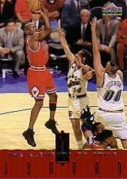 - 1998 Upper Deck Michael Jordan Living Legend Basketball Card (1998) #122 Michael Jordan