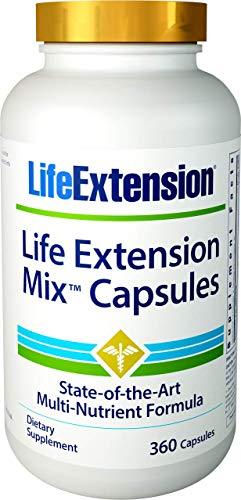 Life Extension Mix (Multi-Vitamin), 360 Capsules