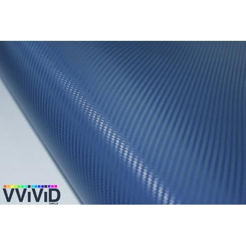 VViViD 6ft x 5ft Premium Black Carbon Fiber Vinyl Wrap Film