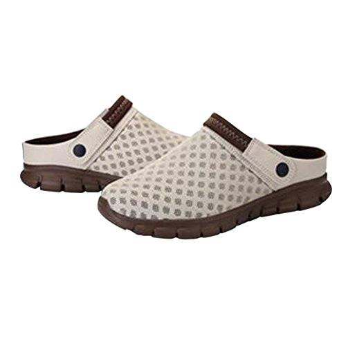 Mesh Flop Anti Sports Breathable Women Unisex Net Slippers Zhuhaixmy Slip Casual Men Flip Sandals Summer Shoes Brwon ONS Outdoor Slip wqUFPWWISy