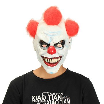 Buffoon Cloak Headdress - Party Home Decoration Clown Mask Headgear Costume Supply Child Gift Toy - Masque Block Merry Andrew Dissemble Antic - 1PCs