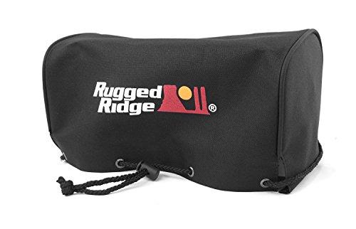 Rugged Ridge 15102.03 Black UTV Winch Cover
