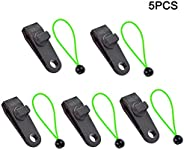 better18 5pcs/10pcs Tents Clip, Crocodile Mouth Multipurpose Tarp Clips Lock Grip Awning Clamp for Tents, Inst