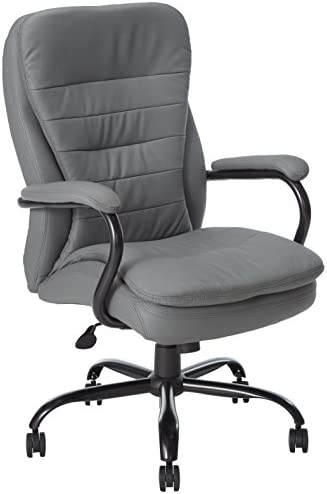 Boss Office Products Heavy Duty Double Plush CaressoftPlus Chair-400 Lb