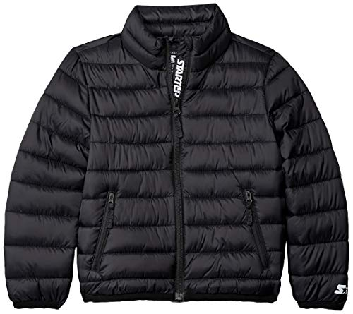 Starter Girls' Packable Puffer Jacket, Amazon Exclusive, Black, Large (Best Packable Puffer Jacket)