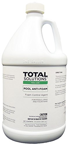 Pool Anti-Foam, Eliminates foam in pools, spas & fountains- 4 Gallons by EcoClean Solutions