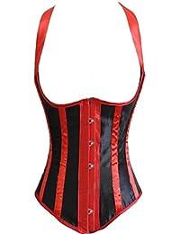Alivila.Y Fashion Womens Burlesque Lace Underbust Corset Bustier
