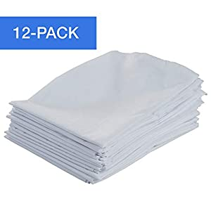 ECR4Kids ELR-024 12-Pack Standard Cot Sheet with Elastic Straps, Standard Size Daycare and Preschool Cot Sheets for Rest…