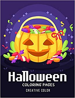 Halloween Online Coloring Pages | 336x260