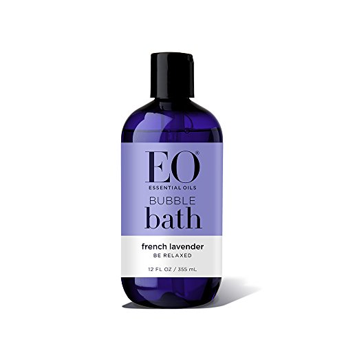 EO Botanical Bubble Bath, Serenity, French Lavender with Aloe, 12 Ounce (Pack of (Organic Lavender Bath Soak)