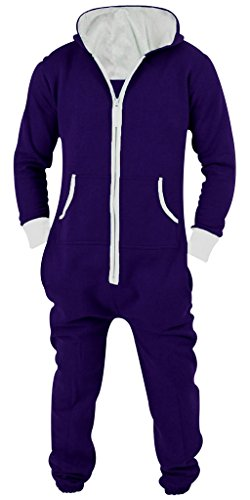 SkylineWears-Mens-Unisex-Onesie-Jumpsuit-One-Piece-Non-Footed-Pajama-Playsuit