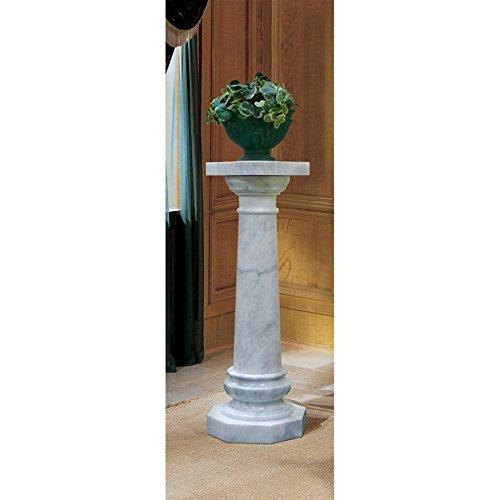 Marble Versailles - Design Toscano Opulent Versailles Natural Marble Column: White