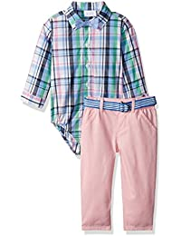 The Children's Place Boys' Li'l Prepster Set Bowtie Outfit Set