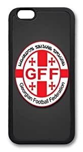 iPhone 6 Plus Case And Cover -Georgia Football TPU Silicone Rubber Case Cover For iPhone 6 Plus 5.5 inch Black
