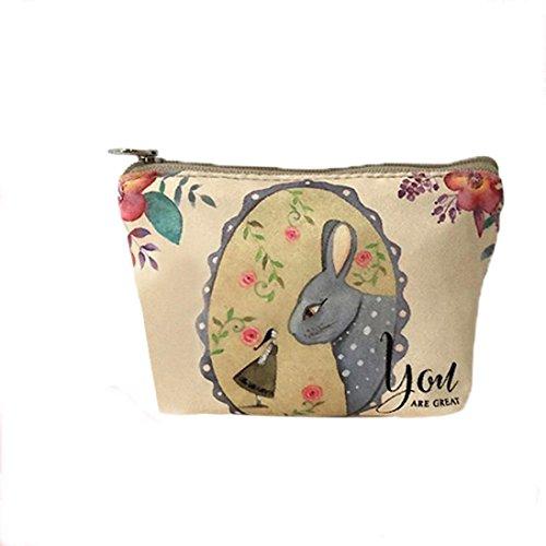 Y56 - Bolso mochila de Lona para mujer S M