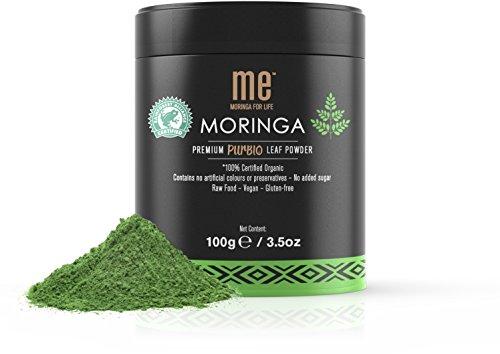 Cheap ME Moringa Pure Moringa Leaf Powder, USDA Organic Certified, Non-GMO Verified, 100 Gram