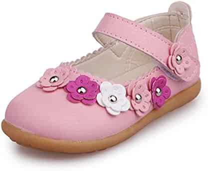 spyman New Spring//Autumn Children Leather Shoes Girls Princess Fashion Flowers Cut-Outs Soft Bottom Toddler Baby Shoes Kids Flats 044