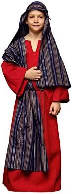 Disfraz de Hebreo rojo para niños en varias tallas: Amazon.es ...