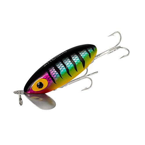 Arbogast Jitterbug Clicker Fishing Lure, Perch, 3-Inch ()