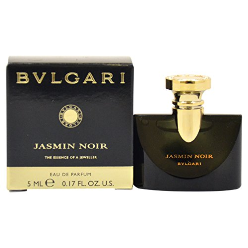 Women Edp Splash Mini (Bvlgari Jasmin Noir Eau de Parfum Splash for Women, 5 ml)