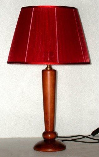 Paolo Rossi oficina o escritorio lámpara de mesa en madera ...