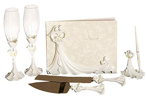 Bride and Groom Calla Lilies