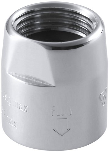 KOHLER K-9660-CP Vacuum Breaker, 1/2-Inch by 1/2-Inch, Polished Chrome