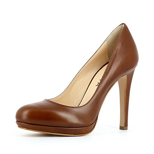 Evita Shoes Cristina - Tacones Mujer Marrón - marrón