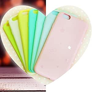 QHY First Love Under the Stars TPU Soft Cover for iPhone 5/5S , Yellow