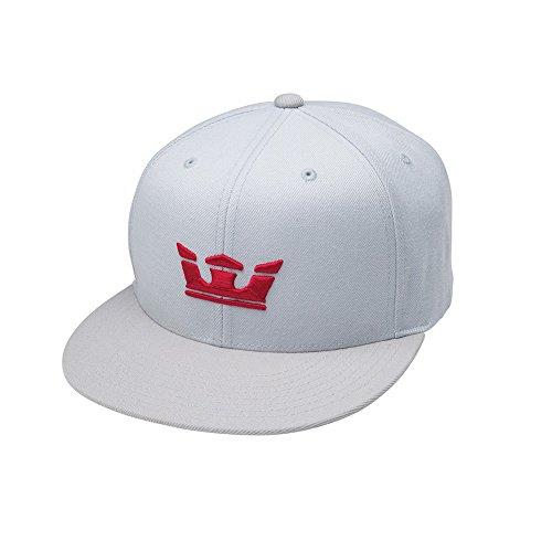 (SUPRA Shoes Hat Icon Snap Grey/Silver)