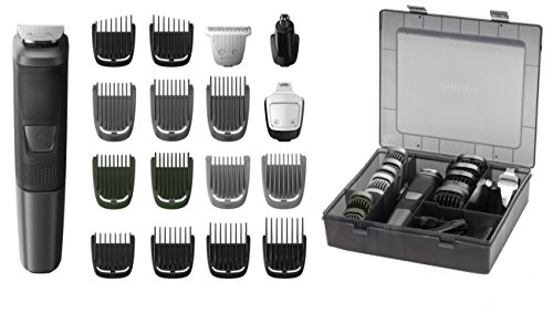 Philips Norelco Multi Groomer MG5760/40-18 piece, beard, body, face, nose, and ear hair trimmer and clipper w/storage case Review