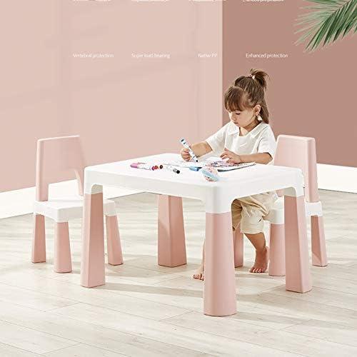 LIANGJUN-Tables - Juego de sillas para niños, Mesa y cajones, 3 Colores: Amazon.es: Juguetes y juegos