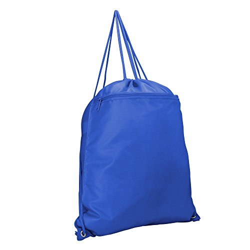 - DALIX Sock Pack Drawstring Backpack Sack Bag in Royal Blue