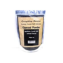 Coconut Activated Charcoal Powder, Large 8 Oz. Ultra Fine . Food Grade, Natural Teeth Whitener, Rejuvenates Skin, Detoxifier