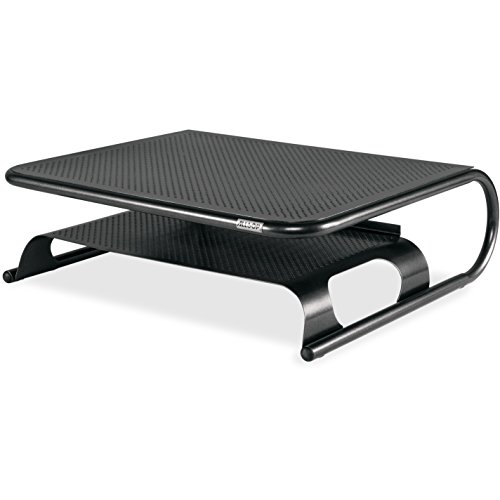 Allsop Metal Art Printer Plus Stand with Shelf for Printers, Monitors, Laptops, TV's, Holds 50lbs (31863) - Allsop Desktop Printer